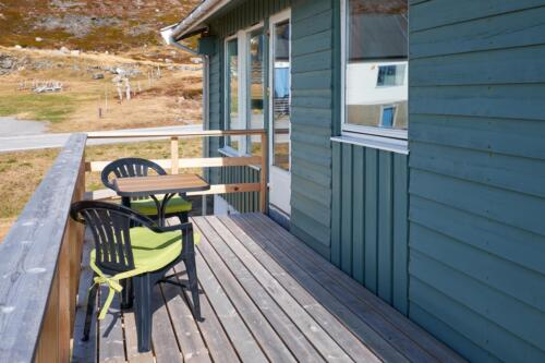 Terrace - Hytte Kongsfjord